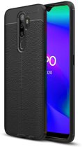Just in Case Soft TPU hoesje voor Oppo A5 2020 - Zwart