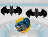 Batman honeycomb decoratie 3 st.