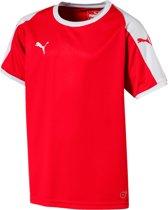 Puma Liga  Sportshirt - Maat 164  - Unisex - rood/wit