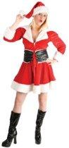 Kerstvrouwtje fluweel Maat 40