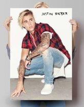 REINDERS Justin Bieber tattoos - Poster - 61x91,5cm