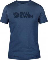 Fjallraven Logo Shirt - Heren - Uncle Blue