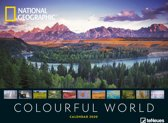 Colourful World National Geographic Posterkalender 2020