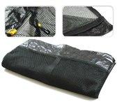 Universeel los veiligheidsnet voor trampolines 305 cm met 4 poten (zonder palen)