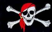 Vlag piraat  90 x 150 cm