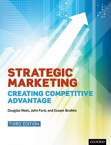 Boek cover Strategic Marketing van West, Douglas (Professor Of Mark