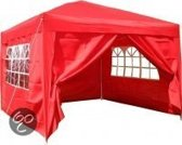 Easy Up - Partytent 3x3 - Rood