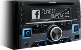 Alpine CDE-W296BT 200W Bluetooth Zwart autoradio