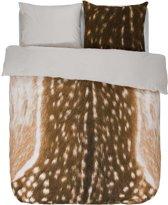 Essenza Bambi - Flanel - Dekbedovertrek - Lits-jumeaux - 240x200/220 cm + 2 kussenslopen 60x70 cm - Brown