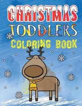 Christmas Toddlers Coloring Book