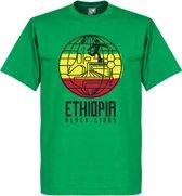Ethiopië Black Lions T-Shirt - XXL