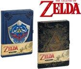 The Legend of Zelda A5 notitieboeken 2 stuks - Triforce Shield - Nintendo Merchandise