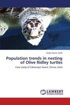 Population Trends in Nesting of Olive Ridley Turtles