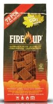 Fire-Up aanmaakblokjes bruin zak/72st