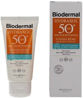 Biodermal Hydraxol Face Cream SPF50 - Zonbescherming gezicht - 50 ml