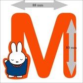 """Nijntje houten letter """"M"""""""