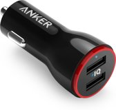 Anker PowerDrive 2 2-Port USB Autolader - Zwart