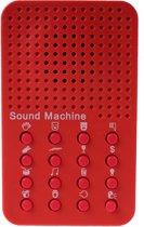 Geluidsmachine - Rood