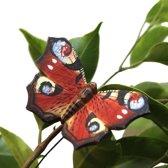 Vlindermagneet dagpauwoog - set van 3 stuks