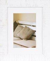 Henzo Driftwood Fotolijst - Fotomaat 15x20 cm - Wit