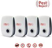 4x Pest Reject - Muizen verjagen - Ongedierteverja