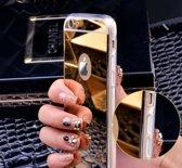 Spiegel Siliconen Hoesje Cover Mirror Case voor de iPhone 7 | GOLD GOUD