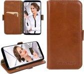 Bouletta - Samsung Galaxy S9 Plus Lederen BookCase (Rustic Cognac)