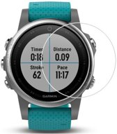 Glass Series HD Tempered Glass Screenprotector voor Garmin Vivoactive 3 / Fenix 5S - Transparant