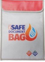 Pro Safe Document Bag - Brandbestendige en waterbestendige zak - XL 38 x 28 cm - Waterkluis - vuurbestendige zak