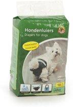 Beeztees Hondenluier - Zwart - L - 10ST