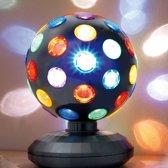 Disco Bol LED Zwart 15 Cm