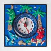Jacques Farel Kids Wekker – Dinosaurus – Blauw/Zwart