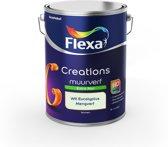 Flexa Creations Muurverf - Extra Mat - Mengkleuren Collectie - Wit Eucalyptus  - 5 liter