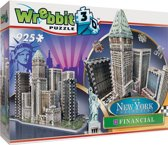 Wrebbit 3D Puzzle - New York Financial 925 stukjes