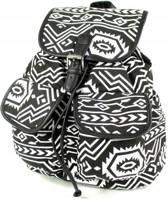 Adventure Bags Rugzak - Aztec - Zwart/Wit