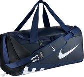 Nike Alpha Medium Duffel Sporttas Unisex - Midnight Navy/Black/White