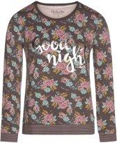 Charlie Choe - Charlie Choe dames pyjama longsleeve Bonne Nuit Maat: XL