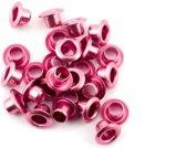 """Eyelets metalic 1/8"""" pink 25 st"""