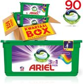 Ariel 3in1 PODS Colour&Style - Kwartaalbox 90 wasbeurten