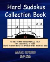 Hard Sudokus Collection Book #4
