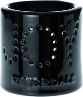 Riverdale Aroma wax brander Joy - 10 cm - Zwart