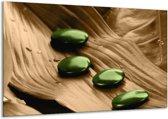 Canvas schilderij Spa | Bruin, Groen | 120x70cm 1Luik