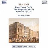 Brahms:Piano Pieces Op.76 Etc.