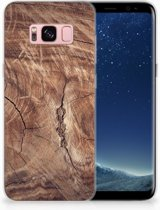 Samsung Galaxy S8 TPU Hoesje Design Tree Trunk