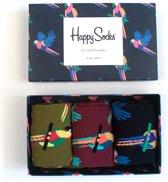 Happy Socks Special Parrot Giftbox - Maat 41-46