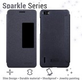 Nillkin Leather Case Huawei Honor 6 - Sparkle Series black