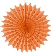 Honeycomb Waaier 45cm Zalm Roze
