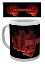 One Punch Man - Fist Mug - Black
