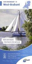 ANWB waterkaart - West-Brabant 2019