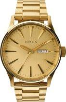 Nixon Sentry SS All Gold horloge  - Goudkleurig